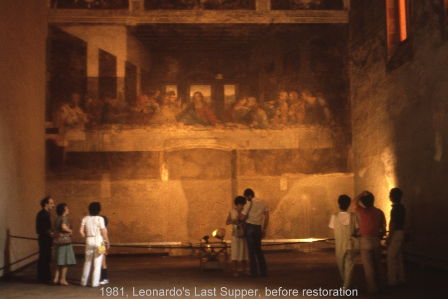 The Da Vinci Crock: Happy Birthday, Leonardo! Da Vinci Last Supper Restored